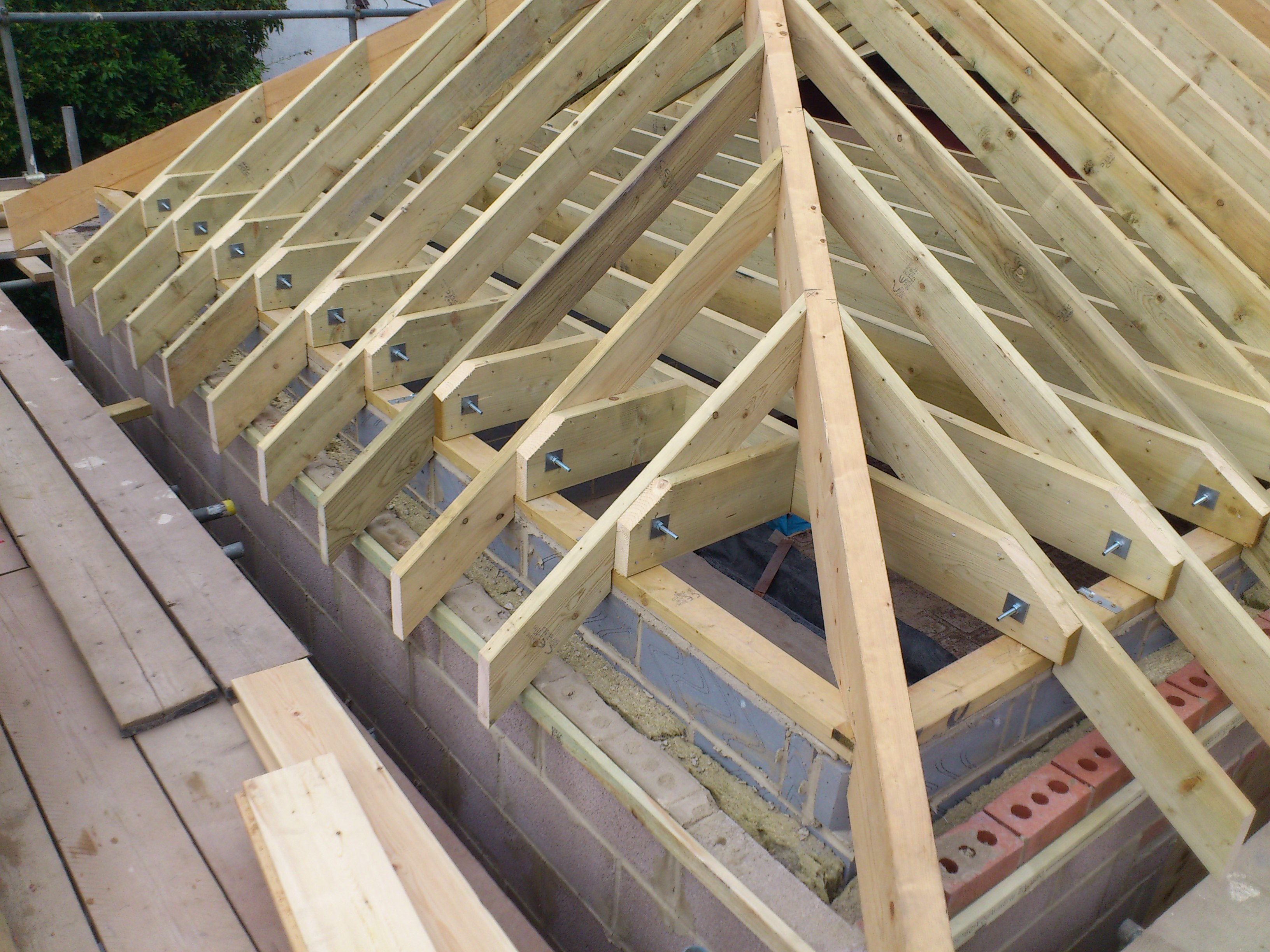 Cut roof you are more likely to have in your property if it is pre war a cut timber roof that - Traditional houses attic ...